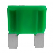0-377-30 Pack of 2 Green Maxi Blade Fuses 30A