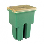 0-379-04 Green Female PAL Type Automotive Fuse 40A
