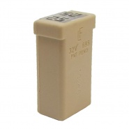 Durite 25A Natural MCASE Cartridge Fuse | Re: 0-379-10