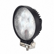 0-420-45 Durite 12V-24V DC 6 x 3W LED Round Work Lamp - IP67
