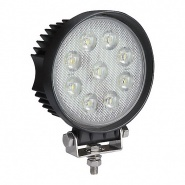 0-420-87 Durite 12V-24V Super Bright Round 9 x 6W COB LED Work Lamp