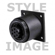0-463-69 3 Pole 10A Caravan Style Surface Mount Socket