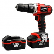 0-467-25 Durite 18V Cordless 1/2 Inch Drive Li-ion Drill Driver with 2 Batteries