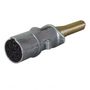 0-477-89 Alloy 7 Pin Socket for 24V Trailers