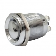 0-485-03 Push Button Stainless Steel and Brass Switch 6A