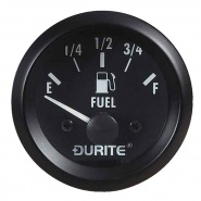 0-523-06 Durite 12V Illuminated Fuel Gauge 52mm Diameter