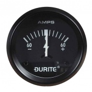 0-523-51 Durite 60-0-60 Amp Illuminated Ammeter 52mm Diameter