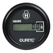0-523-68 Durite Non Illuminated 10V to 36V LCD Engine Hour Counter