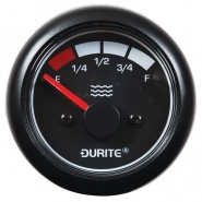 0-525-12 Durite Marine 12V-24V LED Illuminated Water Level Gauge Without Sender