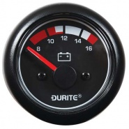 0-525-22 Durite 12V Marine LED Illuminated Battery Condition Meter or BDI