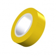 0-557-08 Durite Yellow PVC Adhesive Tape Pack of 12