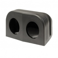 0-601-62 Power Socket Twin Mounting Housing 28mm Hole