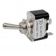 0-603-00 On-Off Single Pole Toggle Switch 10A