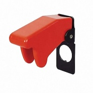 0-603-03 Sprung Loaded Red Toggle Switch Safety Guard