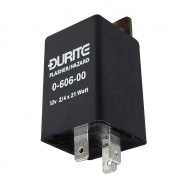 0-606-00 Durite 12V 2-4 x 21+5W Hazard Flasher Unit