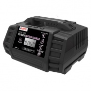 0-647-42 Durite 9 Step 12A Fully Automatic Digital Battery Charger Maintainer 12-24V