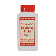 0-664-25 250ml Bottle of Baker's No. 3 Soldering Fluid