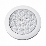 0-668-06 Durite 12V-24V DC White LED Roof Lamp