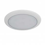 0-668-40 Durite Slim 12V-24V DC Round LED Roof Lamp