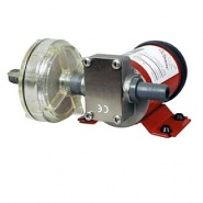 0-673-25 24V Self Priming Transfer Pump for Corrosive Liquids 1.5M to Max. Head 20M
