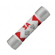 Pack of Durite Domestic Mains Plug Fuses - 3A Red