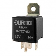 0-727-02 12V Relay 20A Mini Make and Break