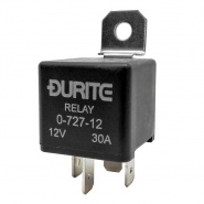 0-727-12 Durite 12V 30A Mini Make and Break Relay