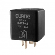 0-727-42 Durite 24V 50A Mini Heavy Duty Make and Break Relay Sealed Resistor