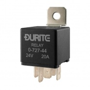 Durite 24V 20A Twin Make and Break Relay | Re: 0-727-44