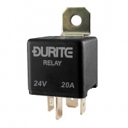 Durite 24V 20A Mini Make and Break Switch Relay | Re: 0-727-52