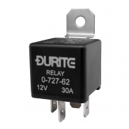0-727-62 Durite 12V 30A Mini Make and Break Relay