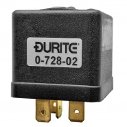 0-728-02 Durite 12V 25A Latching Changeover Relay with Resistor