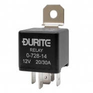 Durite 12V 30A-40A Changeover Relay with Diode | Re: 0-728-14