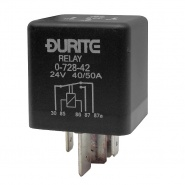 0-728-42 Durite 24V 40A-50A Mini Heavy Duty Changeover Relay