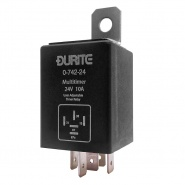 0-742-24 Durite 24V Adjustable Programmable Timer Relay