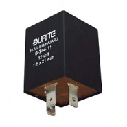 0-744-11 Durite 12V 1-8 x 21W Hazard Flasher Unit