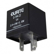 0-744-22 Durite 12V 2/4 x 21W Hazard Flasher Unit