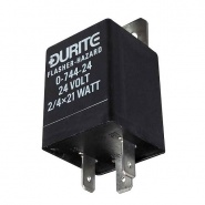 0-744-24 Durite 24V 2-4 x 21W Hazard Flasher Unit