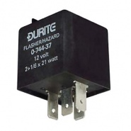 0-744-37 Durite 12V 2+1/6 x 21W Caravan Hazard Flasher Unit