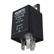 0-744-38 Durite 12V 2/4 x 21W Hazard Flasher Unit