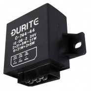 0-744-44 Durite 24V 2+1/6 x 21W Hazard Flasher Unit