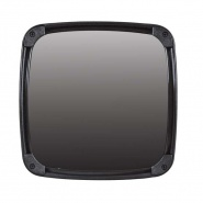 0-770-00 Durite 193mm x 193mm Commercial Vehicle Wide Angle Glass Mirror Head