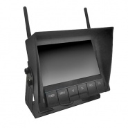 0-775-58 Durite 12V-24V 4-Channel 7″ QUAD Wireless Monitor with DVR