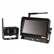 0-776-41 Wireless 12V-24V CCTV Kit - 7 Inch Colour Infrared TFT Monitor with Sound