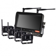 0-776-59 Durite 12V-24V Wireless QUAD Camera CCTV Kit with 7 Inch Colour Monitor