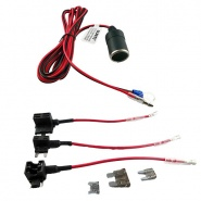 0-776-97 Durite 12V-24V CCTV Hard Wire Kit with Various Fuse Adaptors