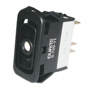 0-780-11 Durite On-Off Single Pole Rocker Switch Body with One Lit Position