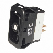0-781-20 Durite Momentary On-Off Double Pole Rocker Switch Body Non-Illuminated