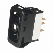 0-782-20 Durite Change Over Double Pole Non-Illuminated Switch Body