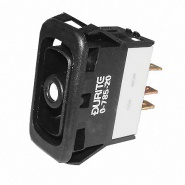0-785-20 Durite Momentary On-Off-On DP Rocker Switch Body Non-Illuminated